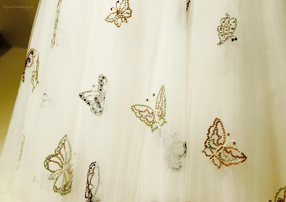 close-up-details-of-replica-dress-originally-worn-by-Princess-Margaret