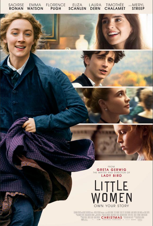 movie-poster-of-Little-Women-starring-Saoirse-Ronan-Emma-Watson-Forence-Pugh-Eliza-Scanlen-Laura-Dern-Timothee-Chalamet-and-Meryl-Streep