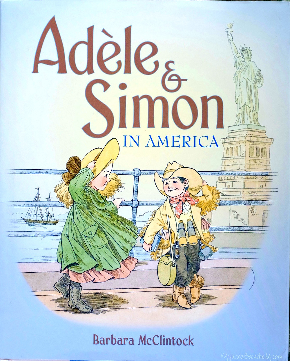 Adele and Simon in America picture book for kids