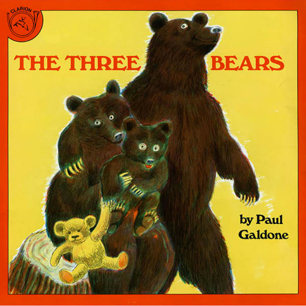 The Three Bears book by Paul Galdone