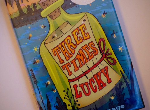 'Three Times Lucky' - A Fave Book Feature for Friday the 13th!
