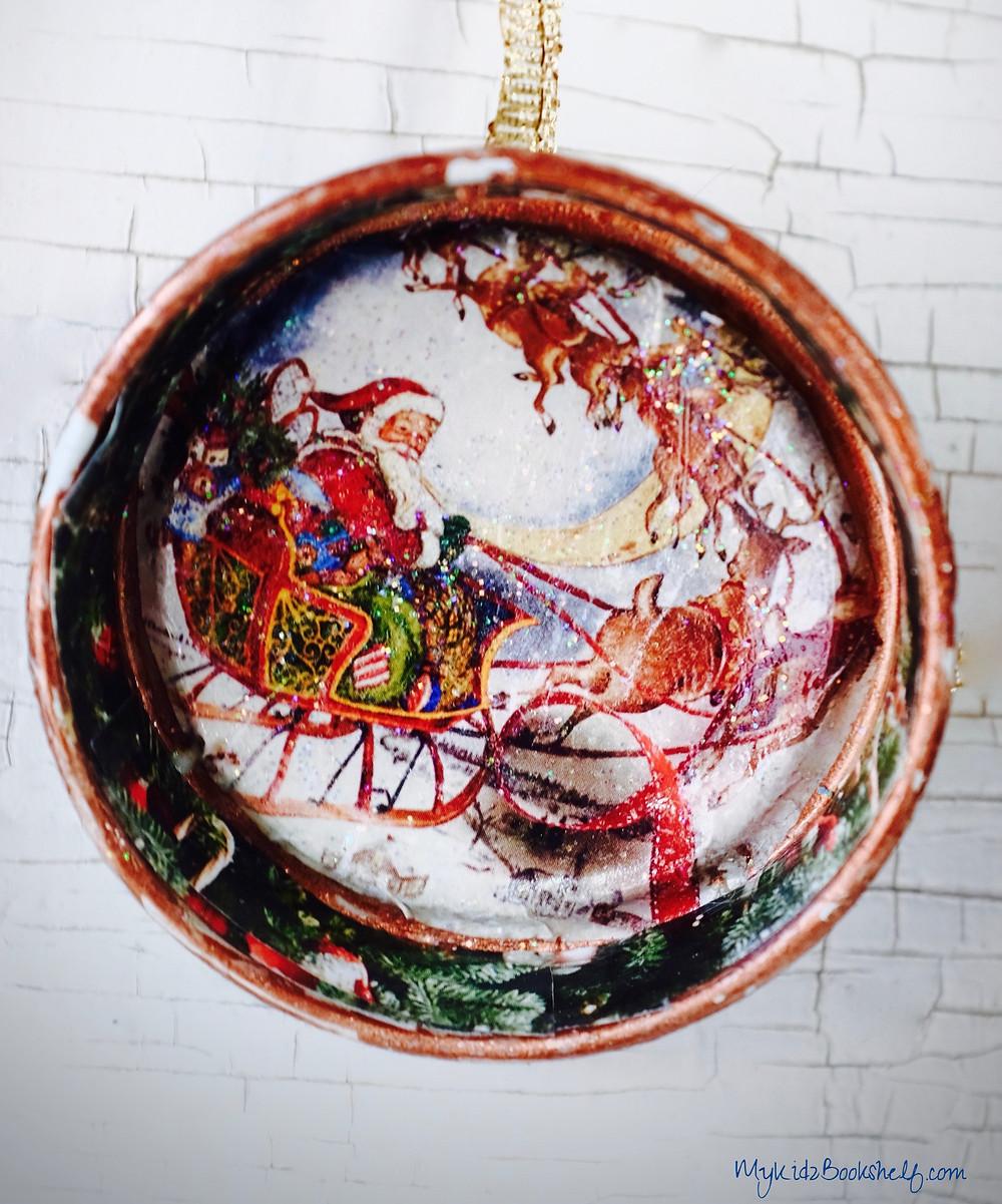 bottle cap ornaments starbucks