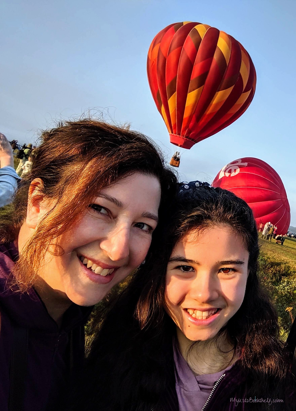Selfie-This was the 48th annual festival . A free event, (they do accept and appreciate donations), they've become well-known for all the breathtaking balloons featured!