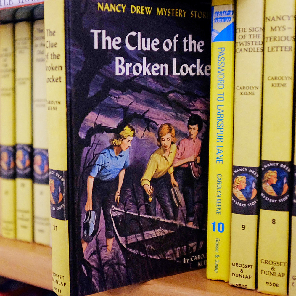 Nancy Drew Mystery Stories The Clue of the Broken Locket