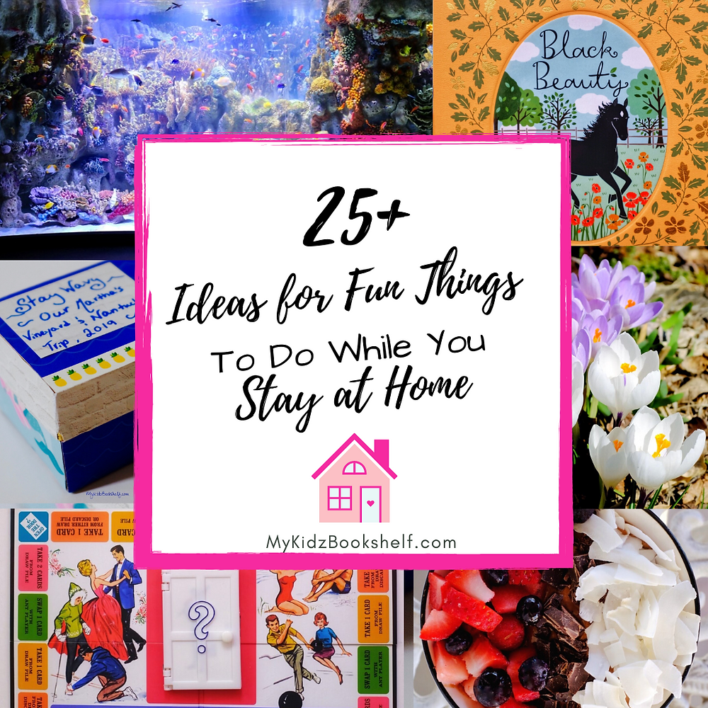 25+ Ideas for fun Things to Do while You Stay at Home