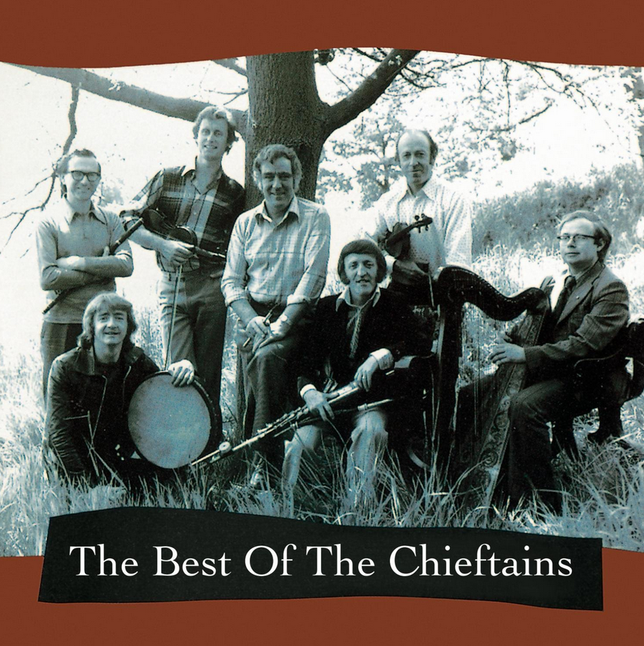 The Best of the Chieftains cd cover Irish band