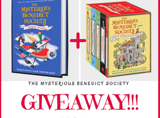 GIVEAWAY! (Closed) - The Mysterious Benedict Society and the Riddle of Ages!