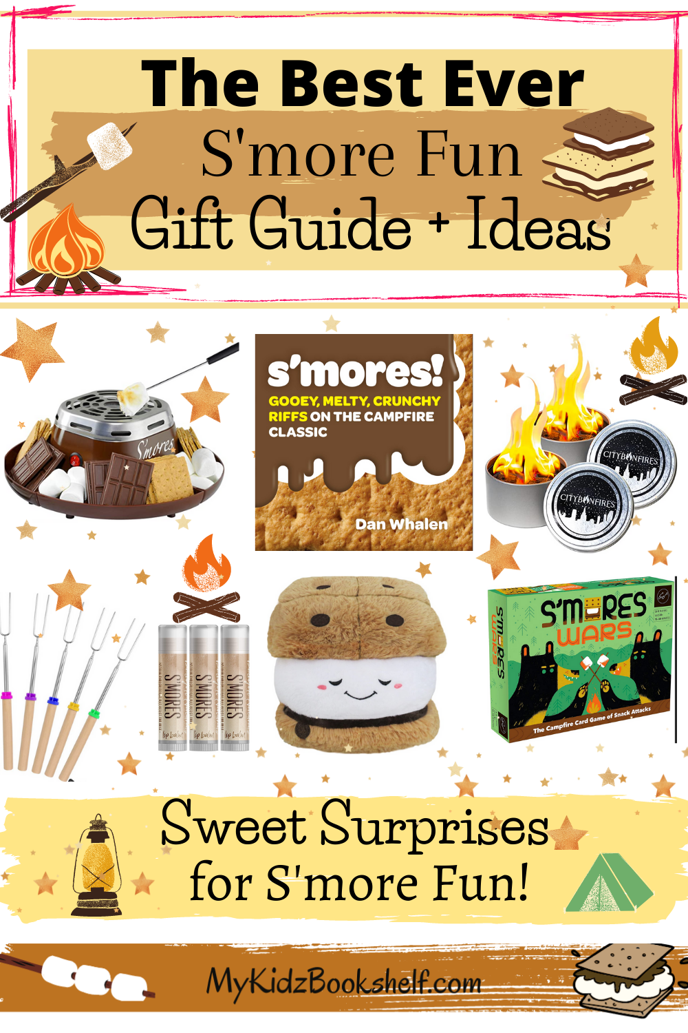 The Best Ever S'more Fun Gift Guide and Ideas