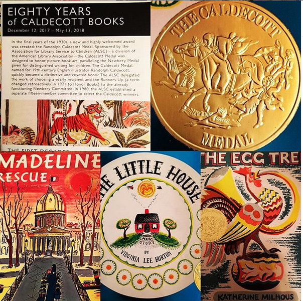 Caldecott-winning-picture-book-collage