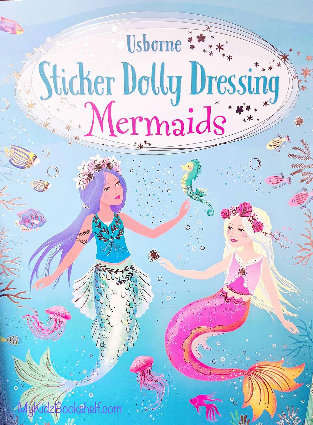 Usborne Sticker Dolly Dressing Mermaids book for kids