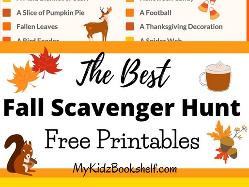 The Best Fall Scavenger Hunt Free Printables!