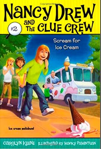 book cover Nancy Drew Scream Ice Cream