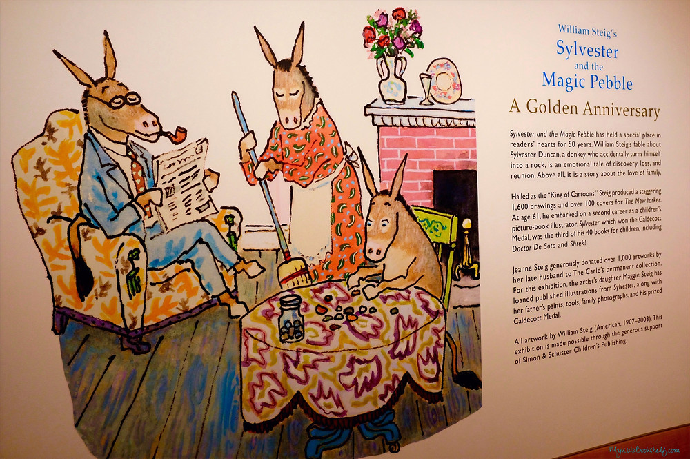 wall-mural-of-Sylvester-and-the-Magic-Pebble-by-William-Steig