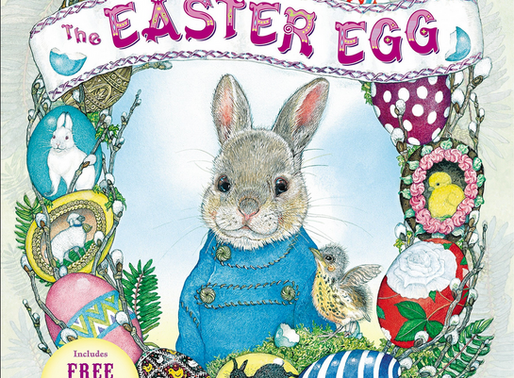 The Easter Egg by Jan Brett - An Eggstraordinary Picture Book Feature for Easter!