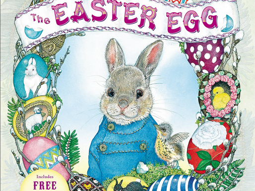 The Easter Egg by Jan Brett - An Eggstraordinary Picture Book Feature for Easter + Fun Activities!