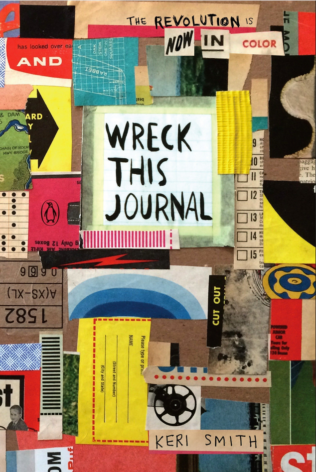 Great Graduation Gifts Wreck This Journal cover of fun interactive journal