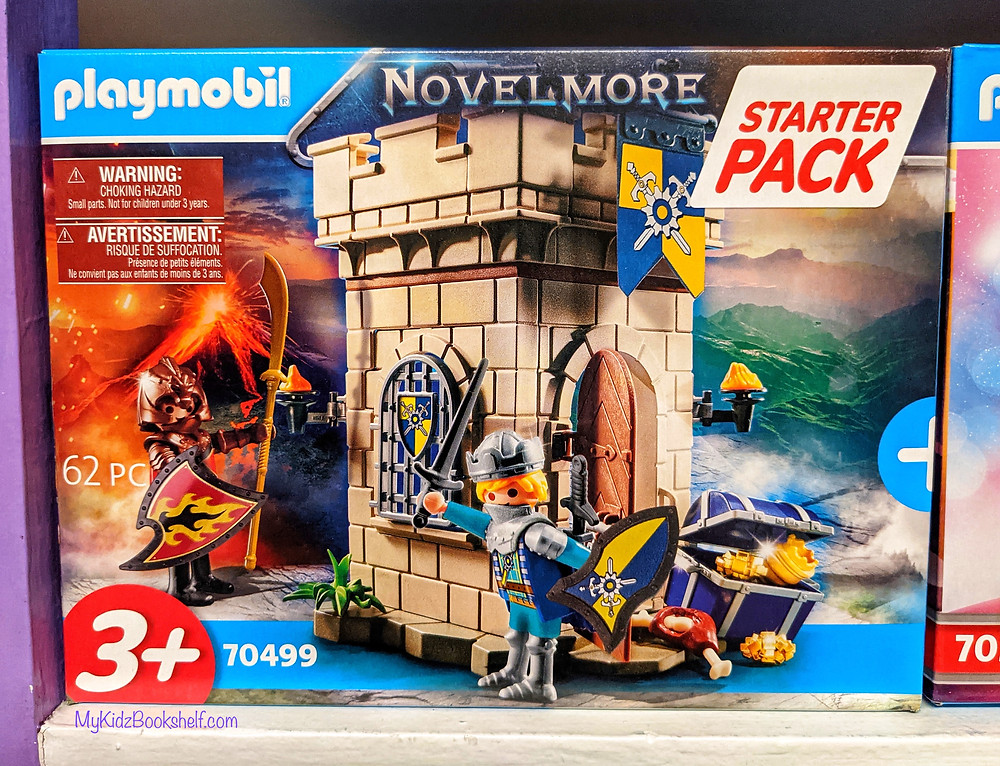 Playmobil starter pack play set Nevermore with toy night and castle