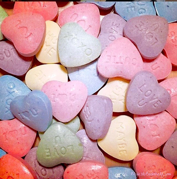 closeu-up-image-of-multi-colored-candy-conversation-hearts-for-Valentine's-Day