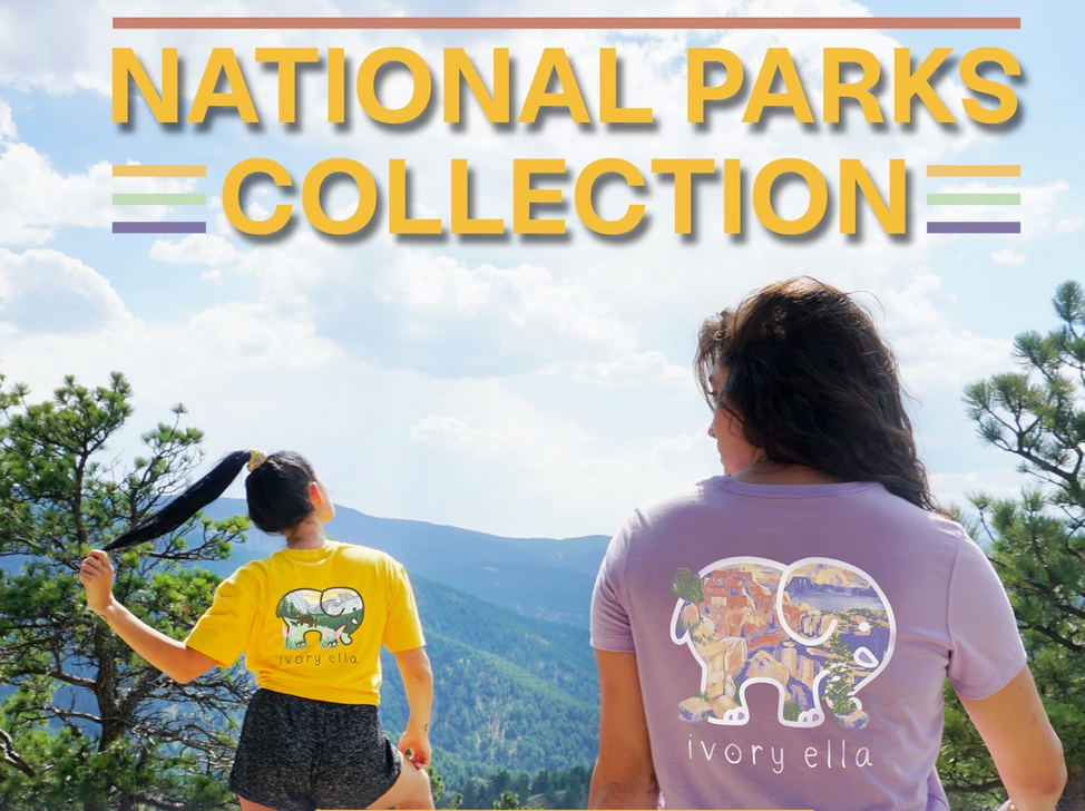 Ivory Ella National Parks Collection tee shirts