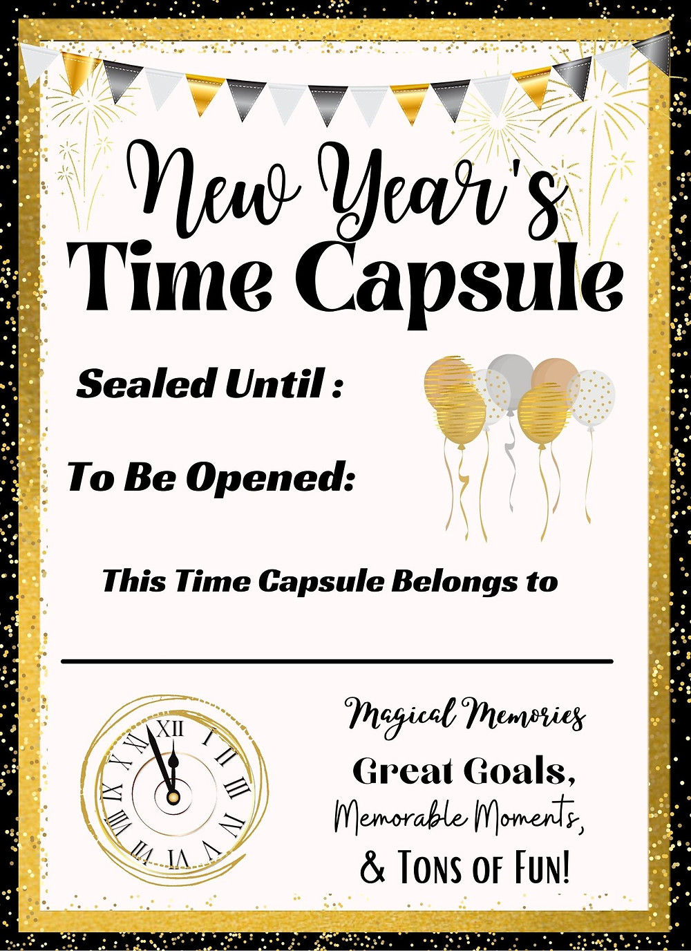 Family-Memories-Time-Capsule-Free printable Fill-in-paper-with-camera-and-tickets-in-the-background