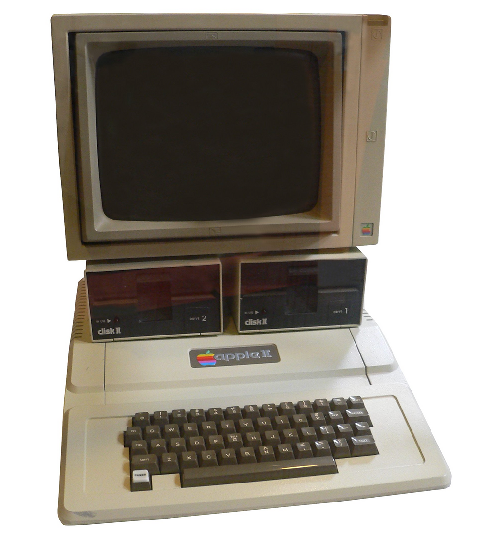 Photo-of-the-vintage-computer-Apple-II-from-1977