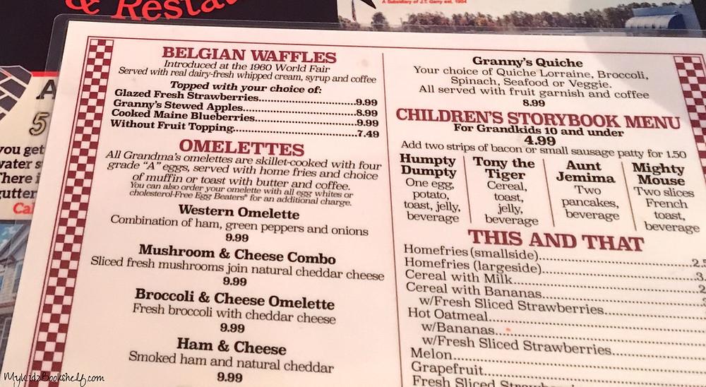 menu-three-times-lucky-by-Sheila-Turnage