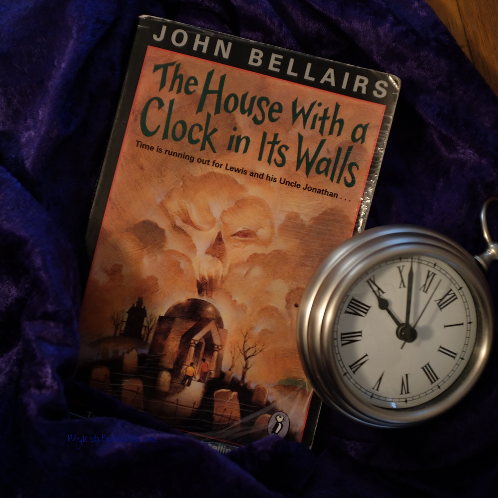 The-House-With-A-Clock-in-its-Walls book with a clock