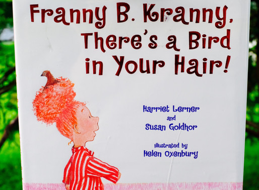 Franny B. Kranny There's a Bird in Your Hair! A Fab Picture Book + DIY Hair Clip Organizer!