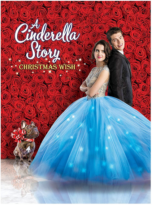 A Cinderella Story Christmas Wish Dvd with teen girl and teen boy on cover