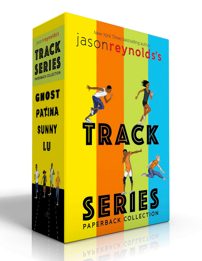 Jason Reynolds's Track Series books 0 Ghost, Patina, Sunny & Lu