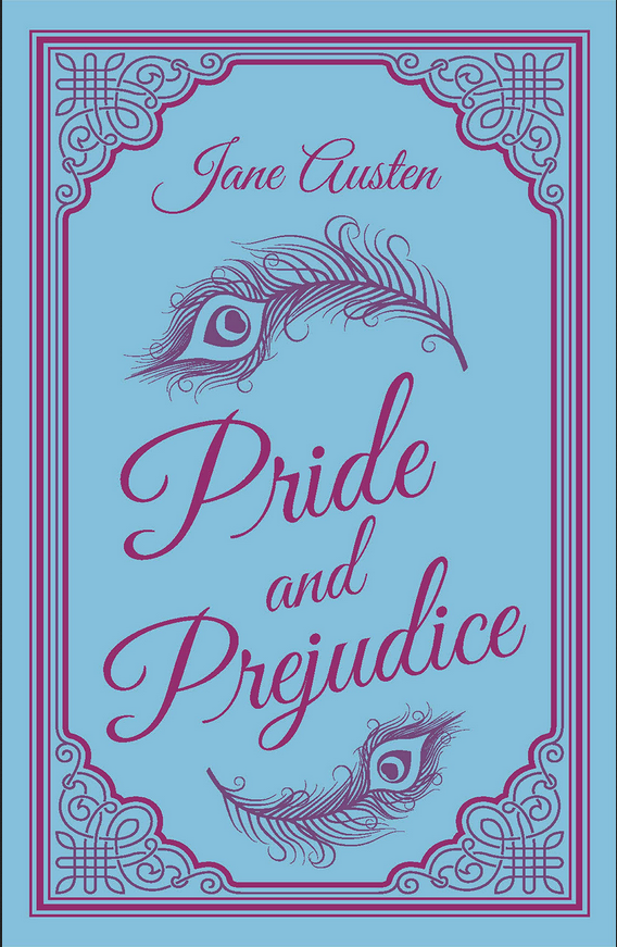 Pride and Prejudice book cover by Jane Austen