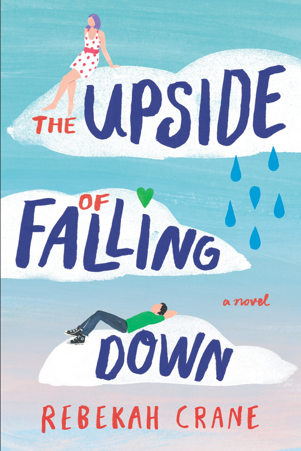 the Upside of Falling Down book cover by Rebekah Crane