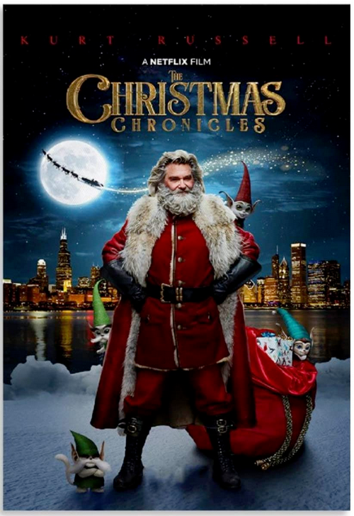 The Christmas Chronicles Netflix original film with Kurt Russell