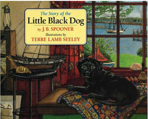 The-Story-of-th-Little-Black-Dog-book-tie-ins-by-J-B-Spooner-illustrations-Terre-Lamb-Seeley-Seas-the-Day-at-Martha's-Vineyard