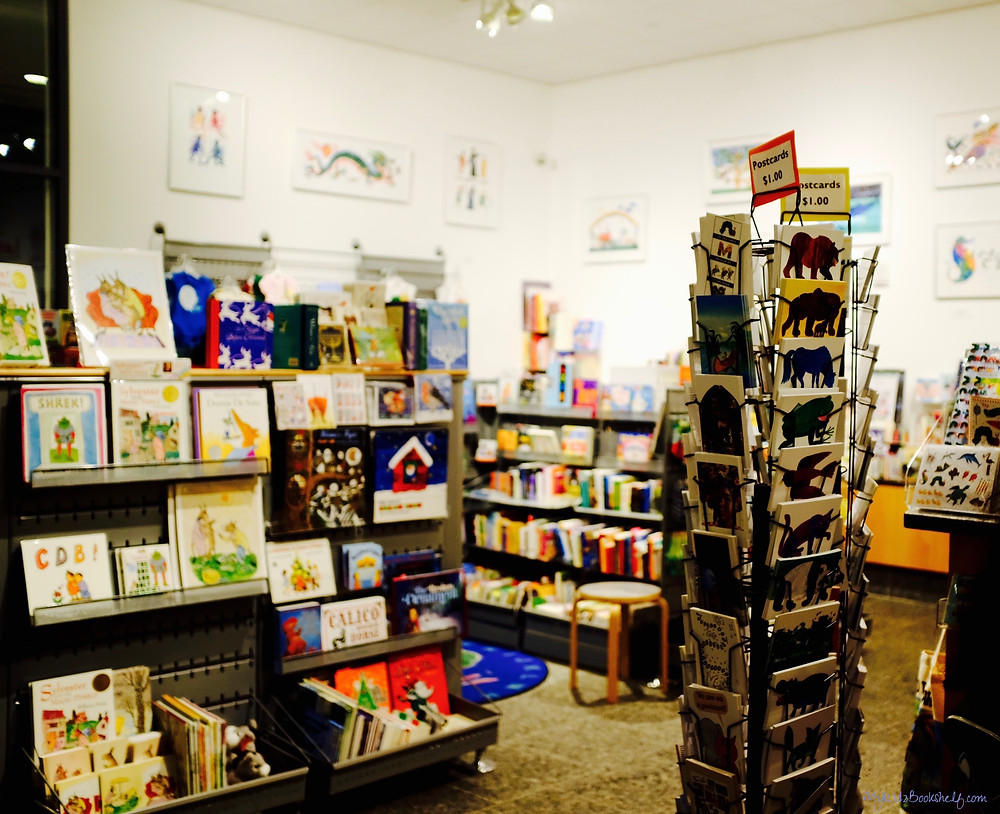 The Gift shop at The Eric Carle Museum of Picture Book Art