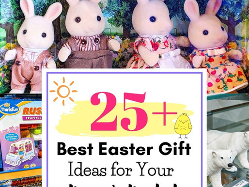 25+ Gifts for the Easter Basket- Shop Local for Last Minute Gifts!