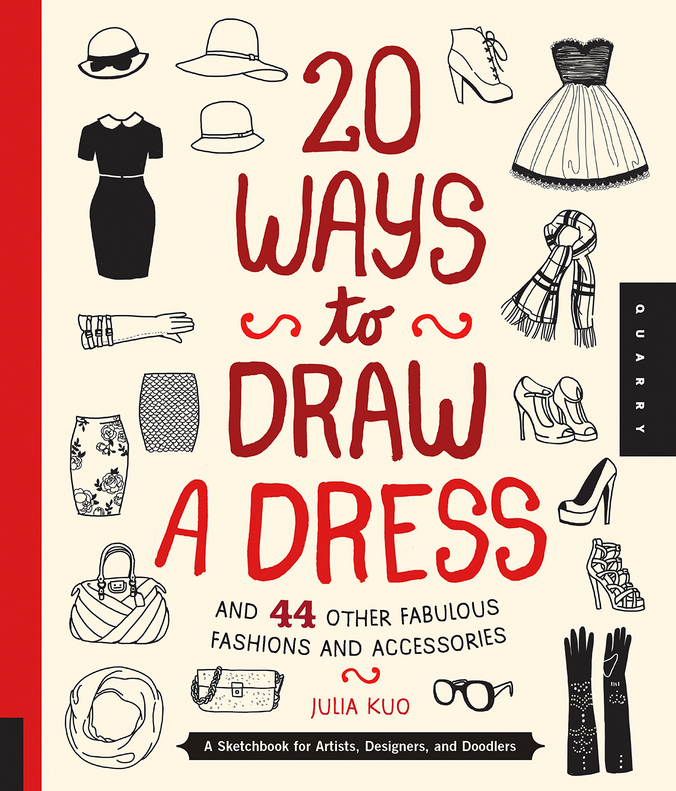 20-ways-to-draw-a-dress-book-by-Julia-Kuo
