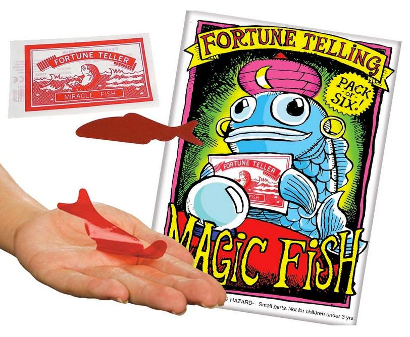 Fortune Telling Magic Fish pac of six