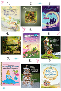 Fairy Books including Tinkerbell, Pinkalicious, Sleeping Beauty and more
