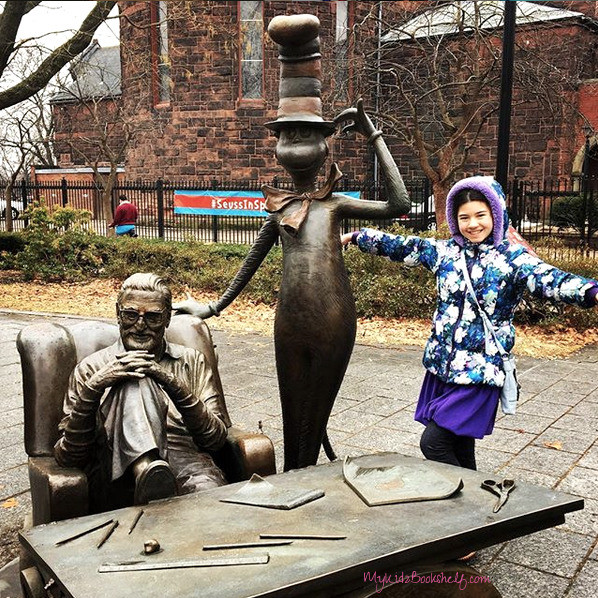 Dr. Seuss National Memorial Sculpture Garden Theodore Geisel and the Cat in the Hat