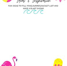 Summer Inspiration Flamingo Printable