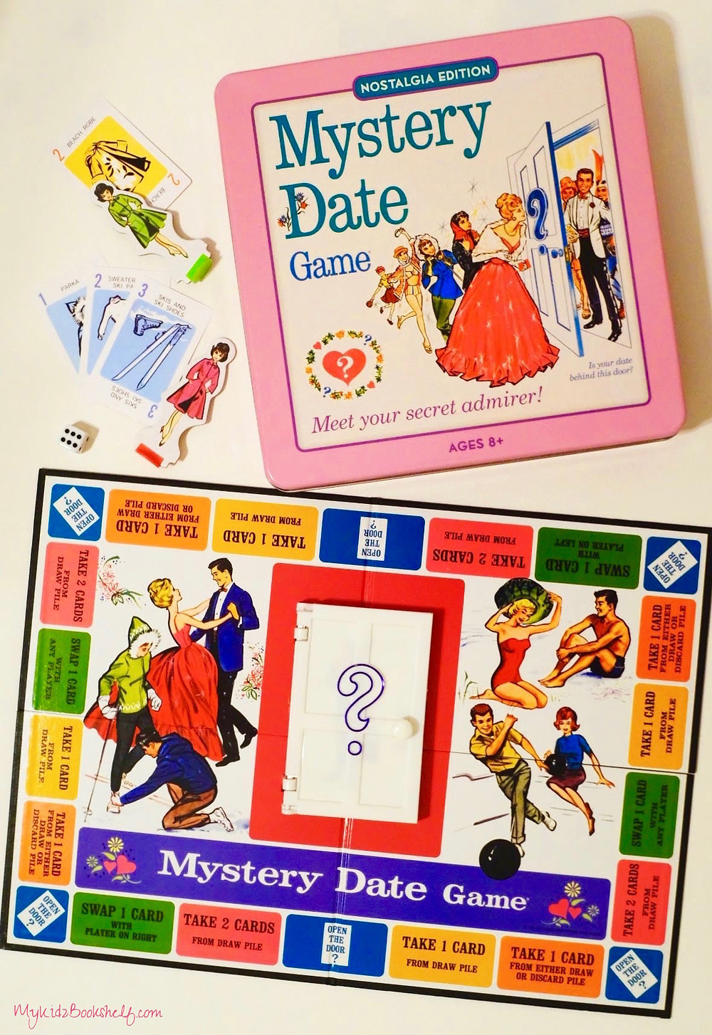 Mystery Date Game vintage edition