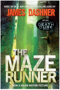 The Maze Runner book cover by James Dashner