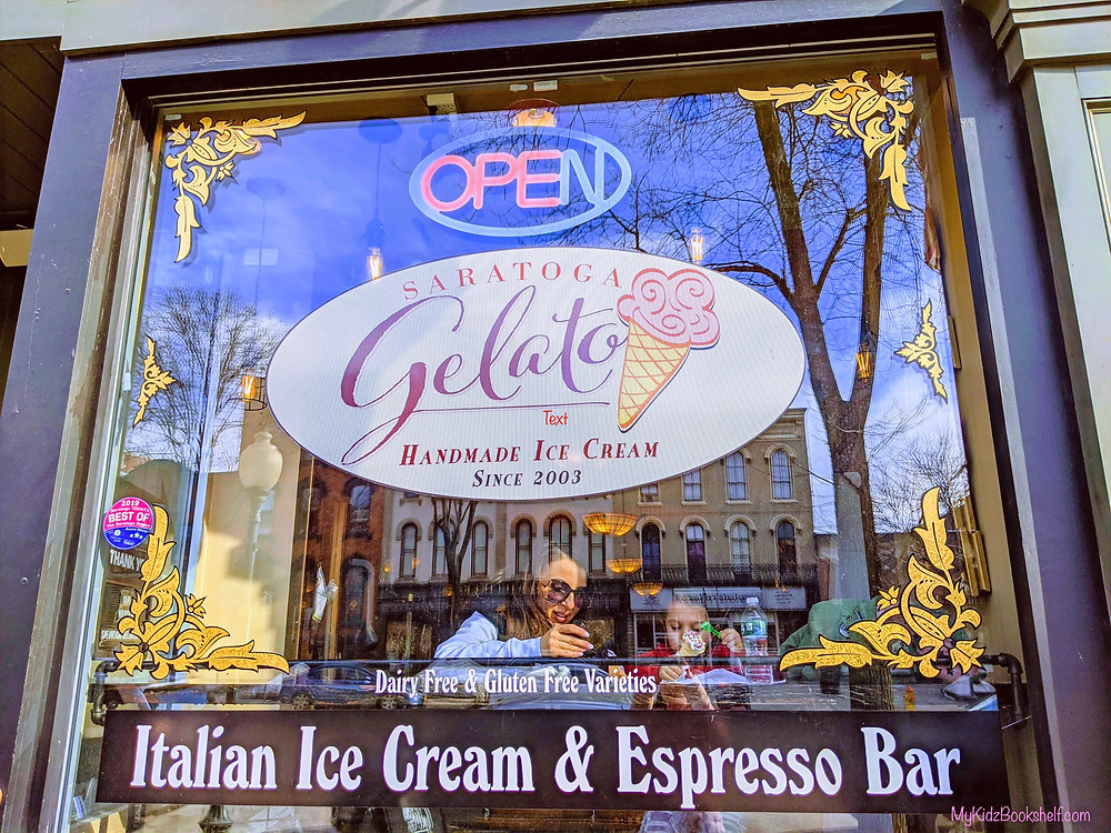 Saratoga Gelato Italian ice Cream and Espresso Bar