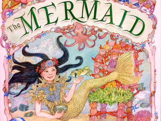 The Mermaid by Jan Brett - A Magical Picture Book Feature!