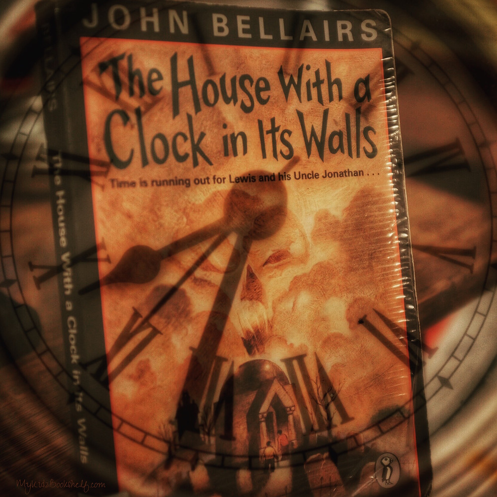 The-House-With-A-Clock-in-its-Walls book cover