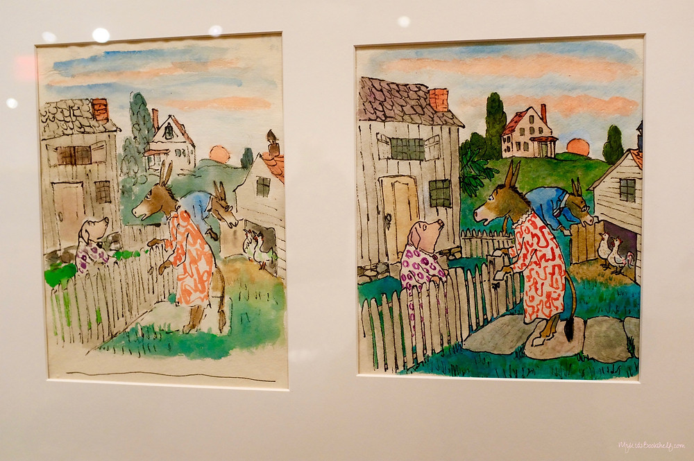 Original artwork from the picture book, Sylvester and the Magic Pebble by William Steig The Eric Carle Museum of Picture Book Art
