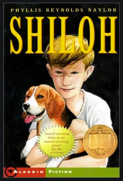 Book cover Shiloh by Phyllis Reynolds Naylor
