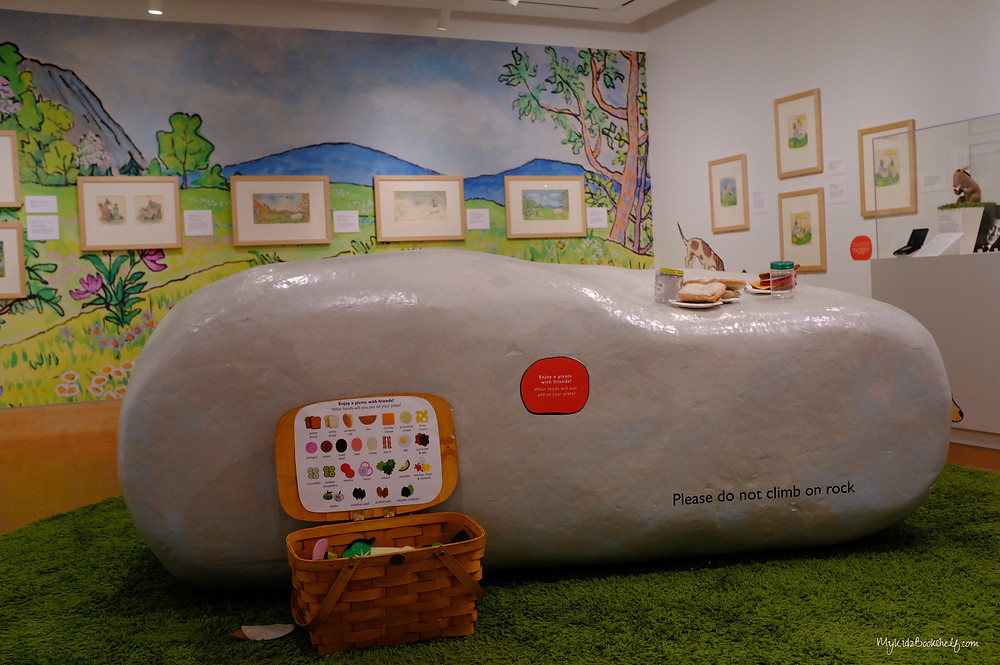 Sylvester and the Magic Pebble exhibit at The Eric Carle Museum of Picture Book Art
