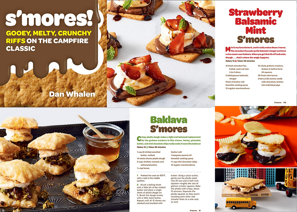 s'mores Gooey, Melty, Crunchy Riffs on the Campfire Classic